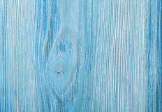 Country blue wooden table background. Texture Stock Photo