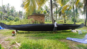 Country Boat Alappuzha Kerala Royalty Free Stock Photos