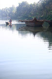 Country Boats of Kerala Royalty Free Stock Photography