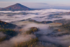 Country of Bohemian Switzerland Royalty Free Stock Photography