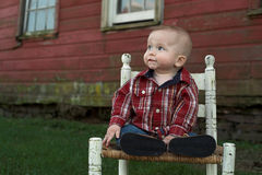 Country Boy Royalty Free Stock Images