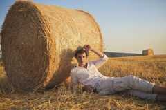Country Boy Royalty Free Stock Photography