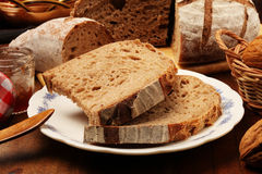 Country bread Royalty Free Stock Images