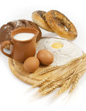 Country breakfast Stock Images