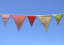 Country Bunting Royalty Free Stock Photography