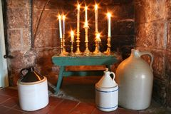 Country Candelabrum Stock Photos