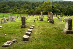 A Country Cemetery in Virginia Stock Image