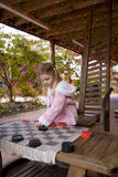 Country checkers stock photography
