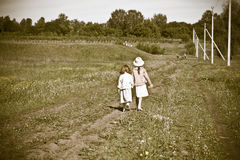 Country children Royalty Free Stock Image
