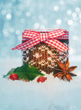 Country Christmas decoration Royalty Free Stock Photography
