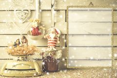 Country Christmas Still Life Royalty Free Stock Image