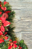 Country christmas wall Royalty Free Stock Photo