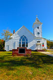 Country Church. Rural Country Church with Blue Sky Royalty Free Stock Photo