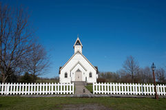 Country church. A country church in Iowa stock photo