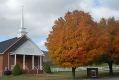 Country Church Royalty Free Stock Photography