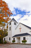 Country church in New England Stock Photography