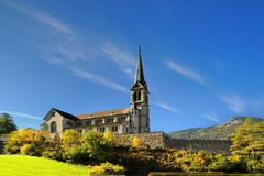 Country church in Switzerland, Europe Stock Photography