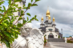 Country church in Ukraine Royalty Free Stock Images