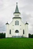 Country Church Under a Stormy Sky Royalty Free Stock Image