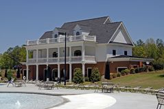 Country Club. In an exclusive gated community Royalty Free Stock Photo
