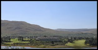Country club. South Africa country club Royalty Free Stock Photography