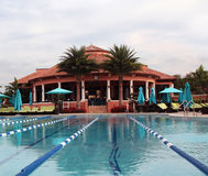 Country Club Swimming Pool Stock Images