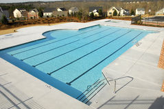 Country Clup Swimming Pool Stock Images
