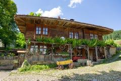 Country coaching inn in Bulgaria Royalty Free Stock Photo
