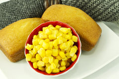 Country corn bread Royalty Free Stock Image