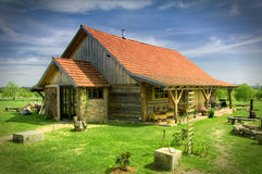 Country cottage Royalty Free Stock Photos