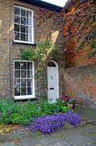Country cottage courtyard garden Royalty Free Stock Photo