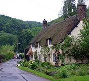 Country Cottage Devon Stock Photo