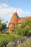 Country cottage oast house Royalty Free Stock Images