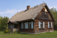 Country cottage thatched Stock Photography