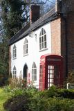 Country Cottages at Raveningham, Suffolk, England. Stock Photography