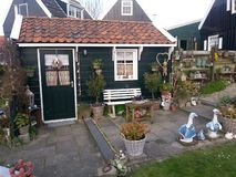 Country courtyard in the Netherlands stock images