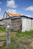 Country craft. Isolated farm dwelling in the australian outback Royalty Free Stock Images
