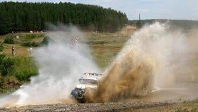 country cross race truck Arkivfoton
