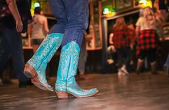 Country dancing boots