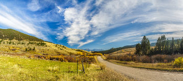 Country Dirt Road Royalty Free Stock Photo