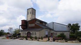 A country distillery. A distillery building in Kentucky stock image