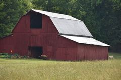 Country Drive into Georgia and found some Amazing old Barns. While out for a Country Drive into Georgia I found some Amazing old Barns royalty free stock image