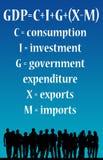 Country economy Royalty Free Stock Photo