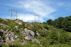 Country Electricity Royalty Free Stock Image