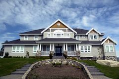 Country Estate. Found in White Rock, Vancouver, BC Royalty Free Stock Photos
