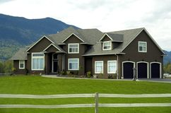 Country Estate Stock Photo