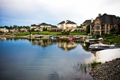 Country estates Royalty Free Stock Photography