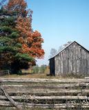 Country Fall Scenic Ontario Canada. Fall colors in the county of Lanark Ontario stock photos