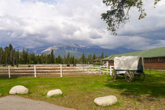 Country farm in Canada Royalty Free Stock Photos