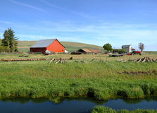 The country farm Eastern Washington state. Royalty Free Stock Photo